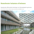 Hemelwater belasten of belonen