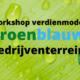 Workshop Revenue Model Green-Blue Business Sites